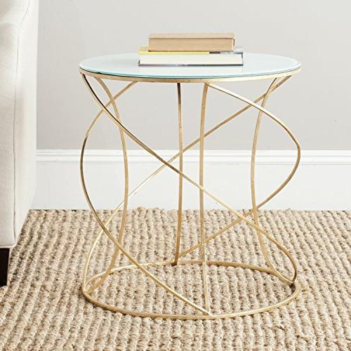 home collection cagney gold accent
