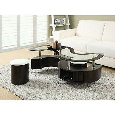 Coaster Home Furnishings 720218 Coffee Table And Stools Capp