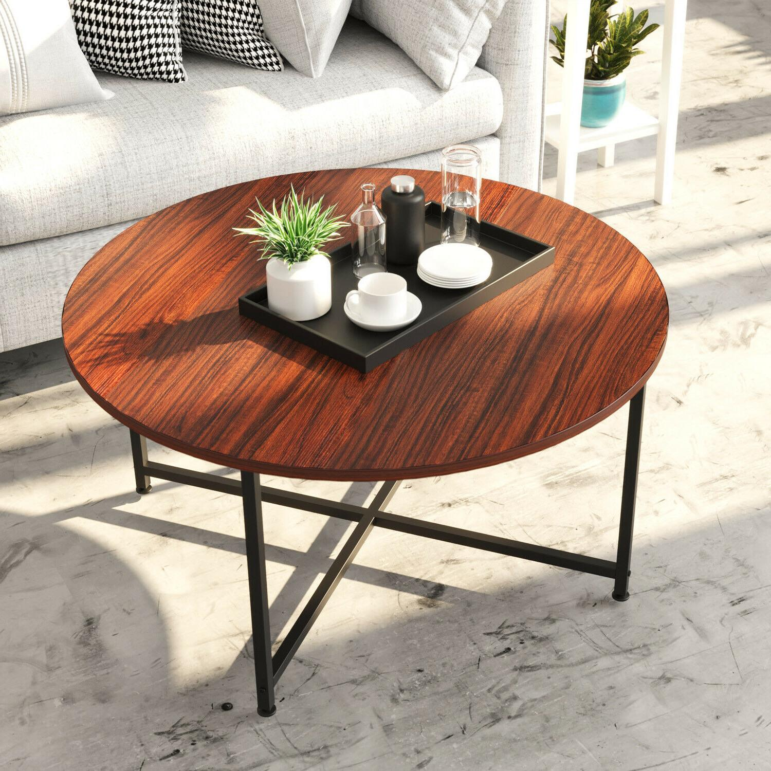industrial coffee table for living room tea