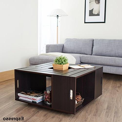 ioHOMES Crate Table,