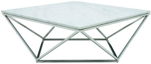 jasmine square marble coffee table
