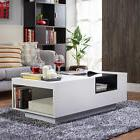 Furniture of America Kassalie Modern Two-tone White/Black Gl