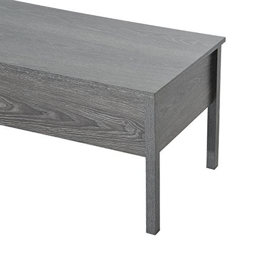 "HOMCOM 39"" Modern with Grey"