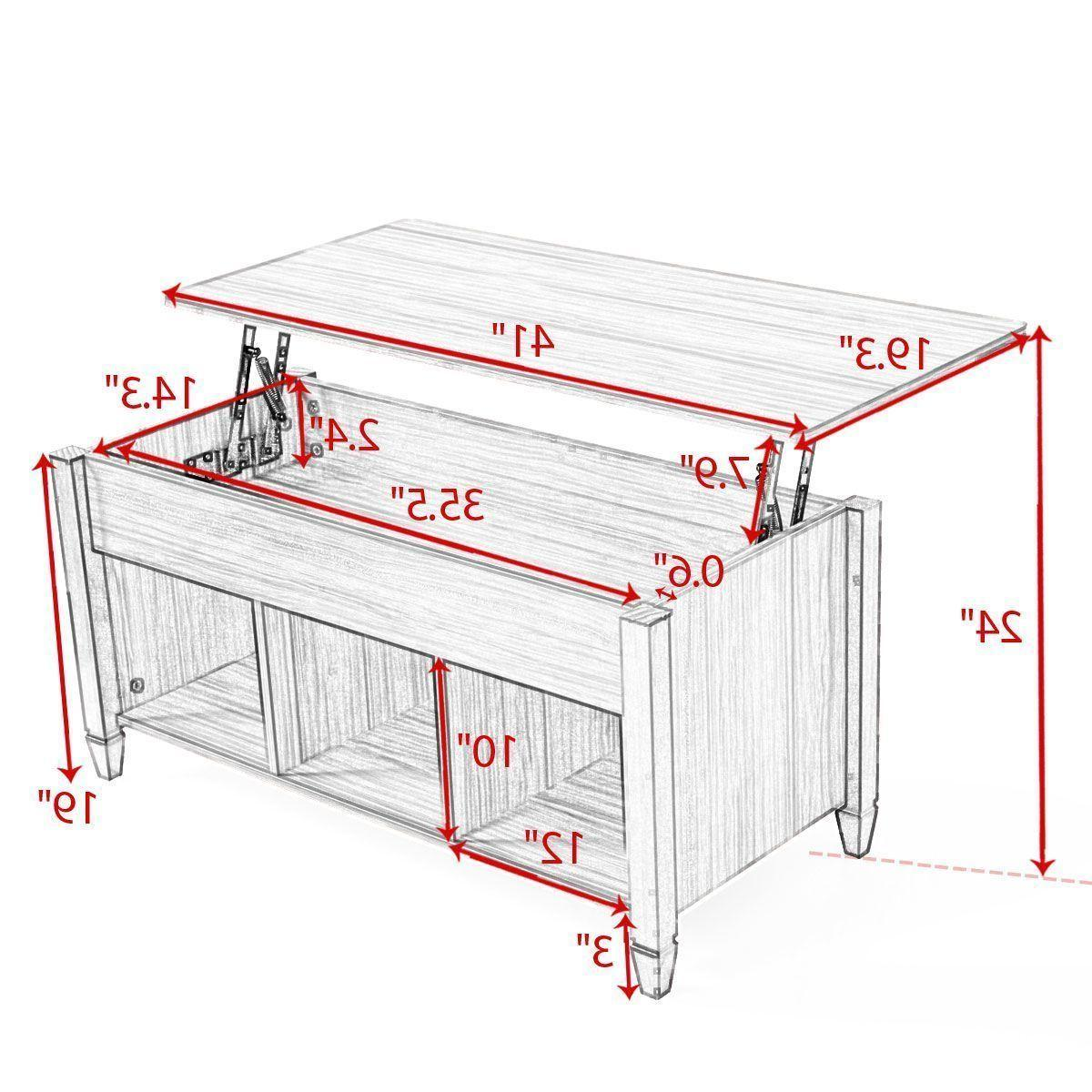 Lift w/ Compartment Shelf Furniture