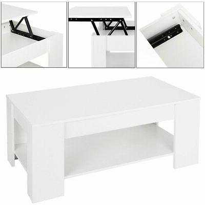 Lift Top Table Storage And Living Mechanism -