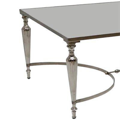 Beaumont Lane Coffee Table in Nickel