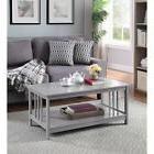 Convenience Concepts Mission Coffee Table in Gray - 203382GY