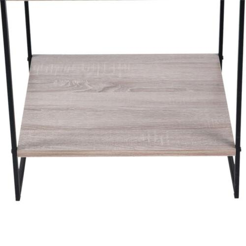 Modern 2 Tier Table 20 Inch Square Side Table Table