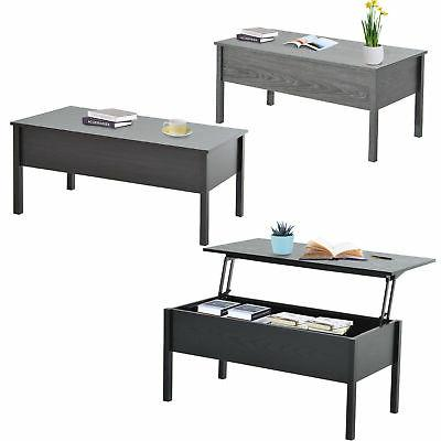 Modern Coffee End Table Lift Top with Storage Space Living R