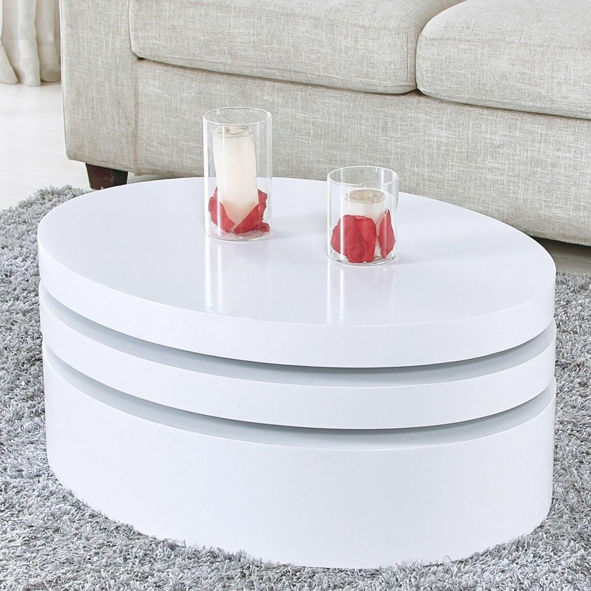 Modern Round Table Rotating Room