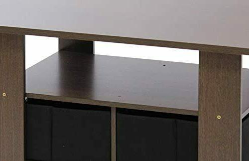 Modern Table End TV Stand + Bin