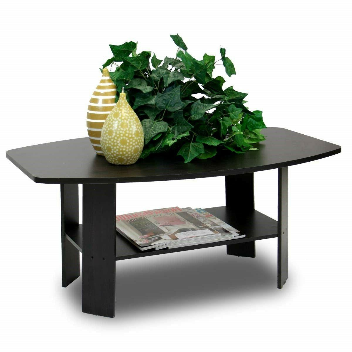 Modern Coffee Wood Table Living Coffee