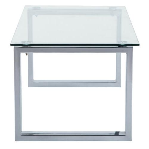 Modern Glass Table w/