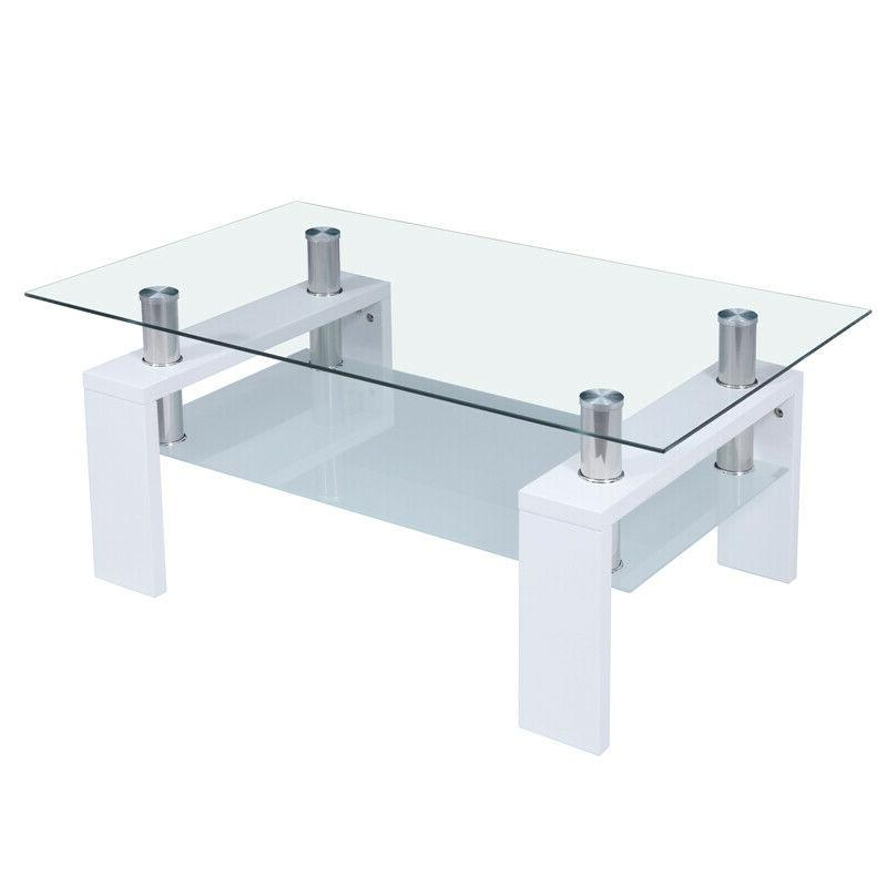 Rectangular Coffee Table Modern Furniture