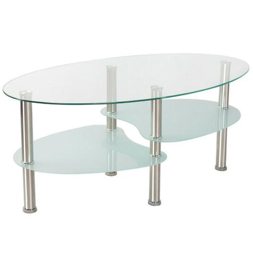 Modern Top Table Sofa Side Table Living Room Stainless Legs