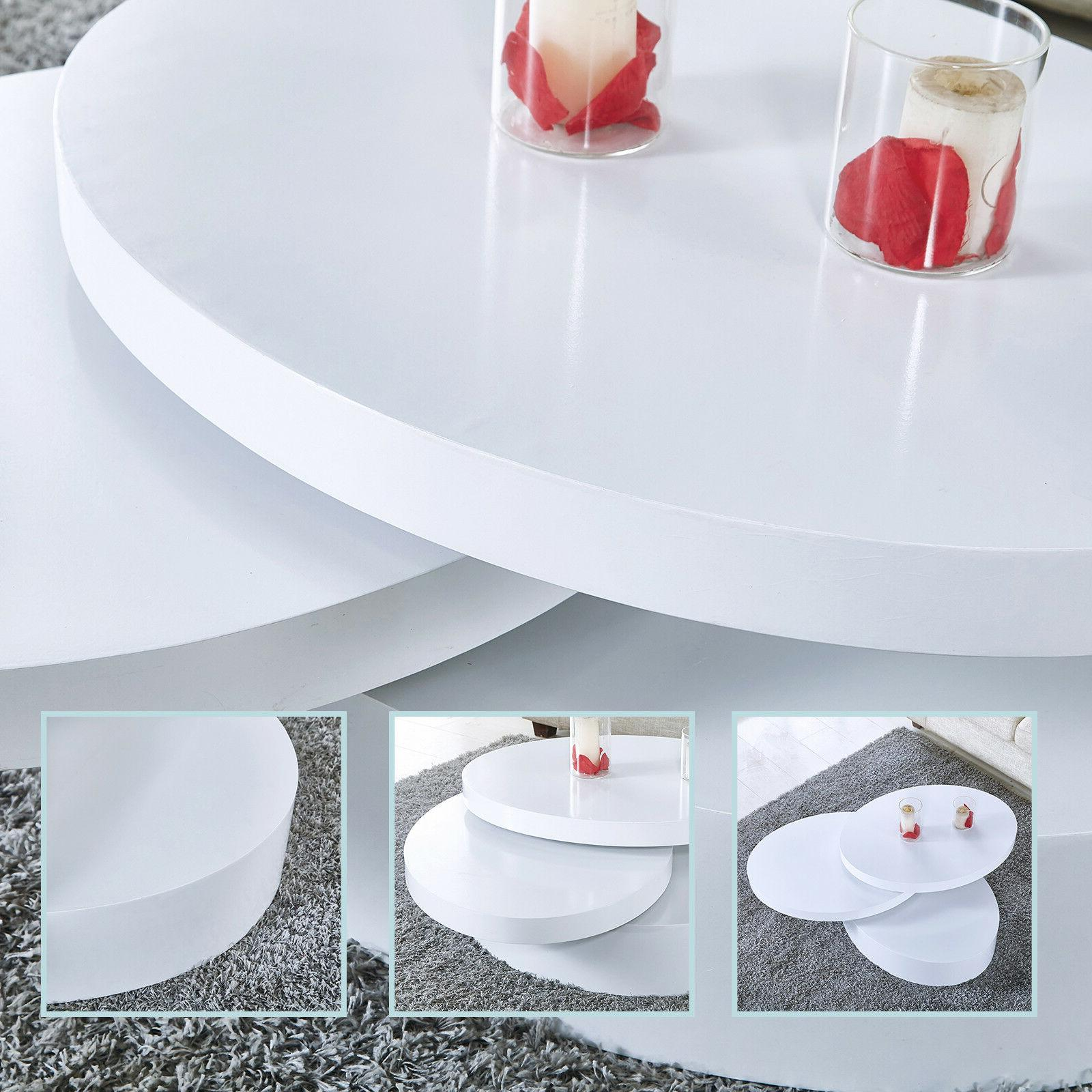Modern White Table Contemporary Room
