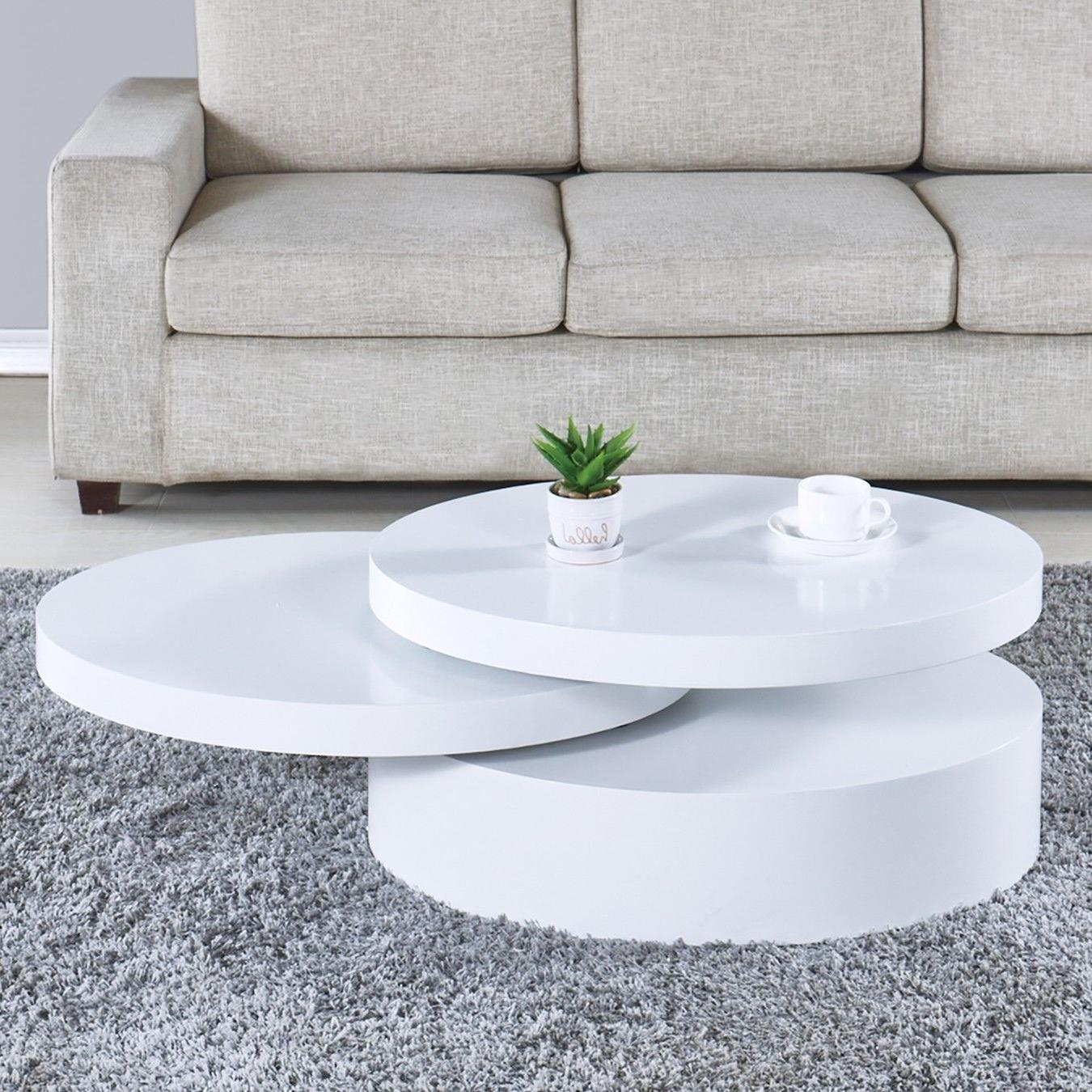 Modern Table Rotating Contemporary Room