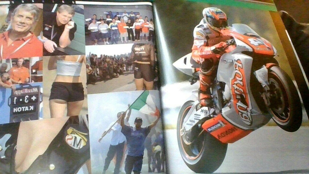 Motoracing table size book. Valentino Rossi