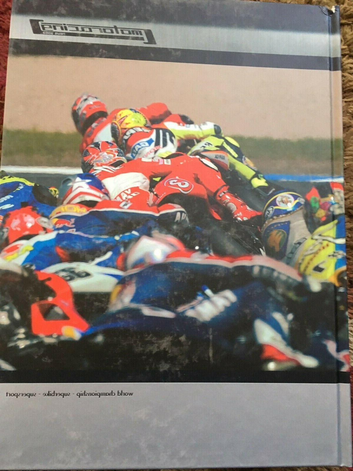 motoracing news 2002 coffee table size book