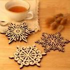 Mug Pads Carved Coasters Drinks Cup Mat Table Decoration Cof