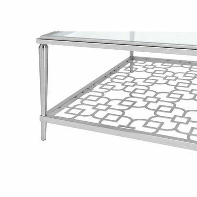 ACME Table Brushed Nickel
