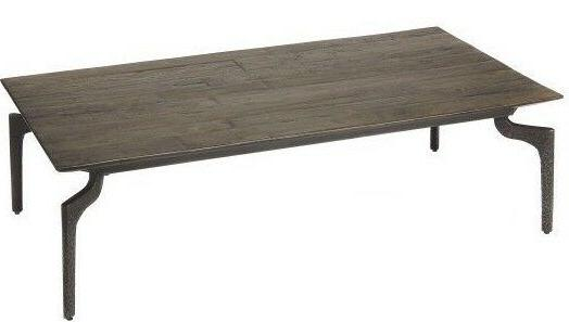 "NEW 53"" Reclaimed Wood & Iron Coffee Table Mid Century Moder"