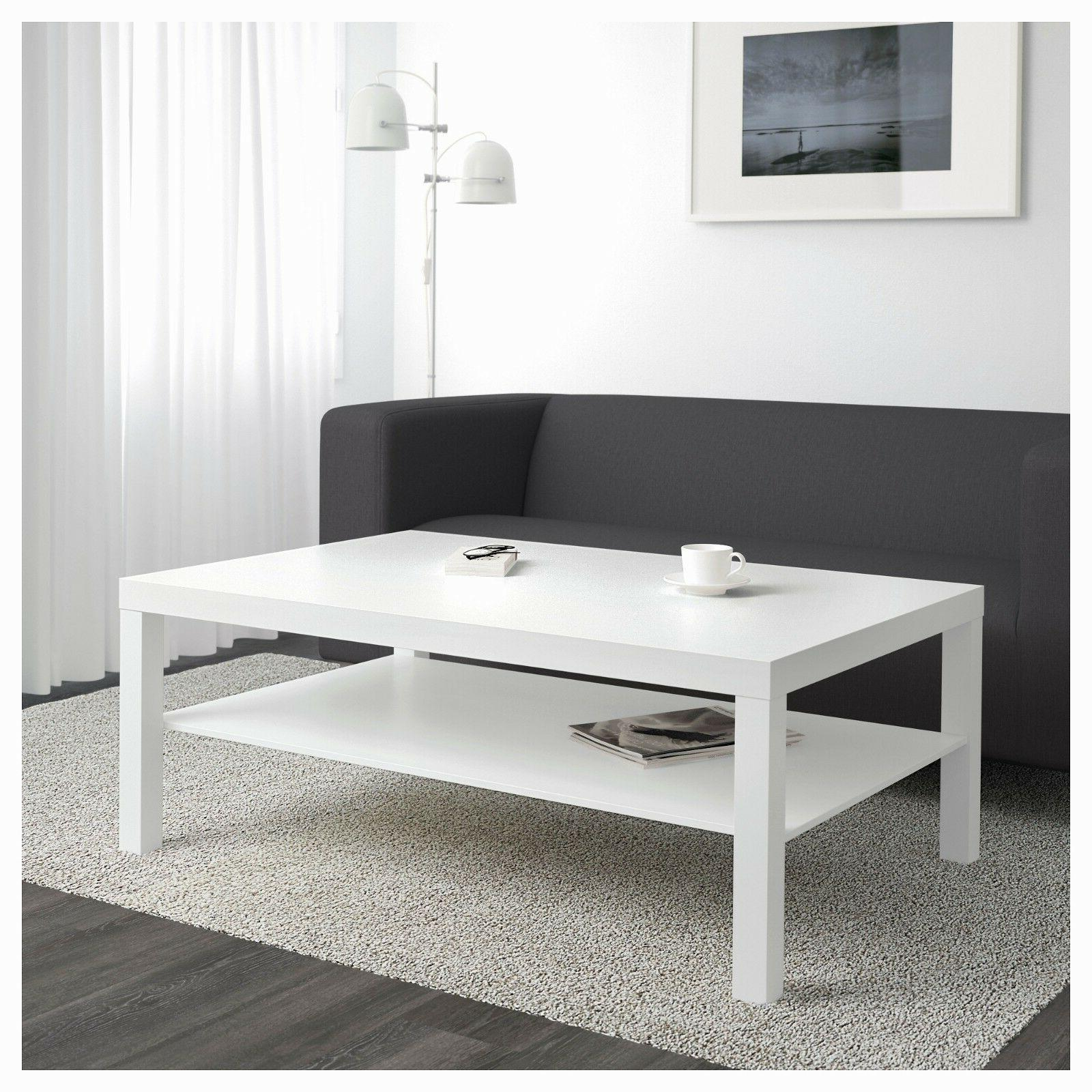 New Modern Coffee Table Lack White TV Stand Laptop IKEA Livi