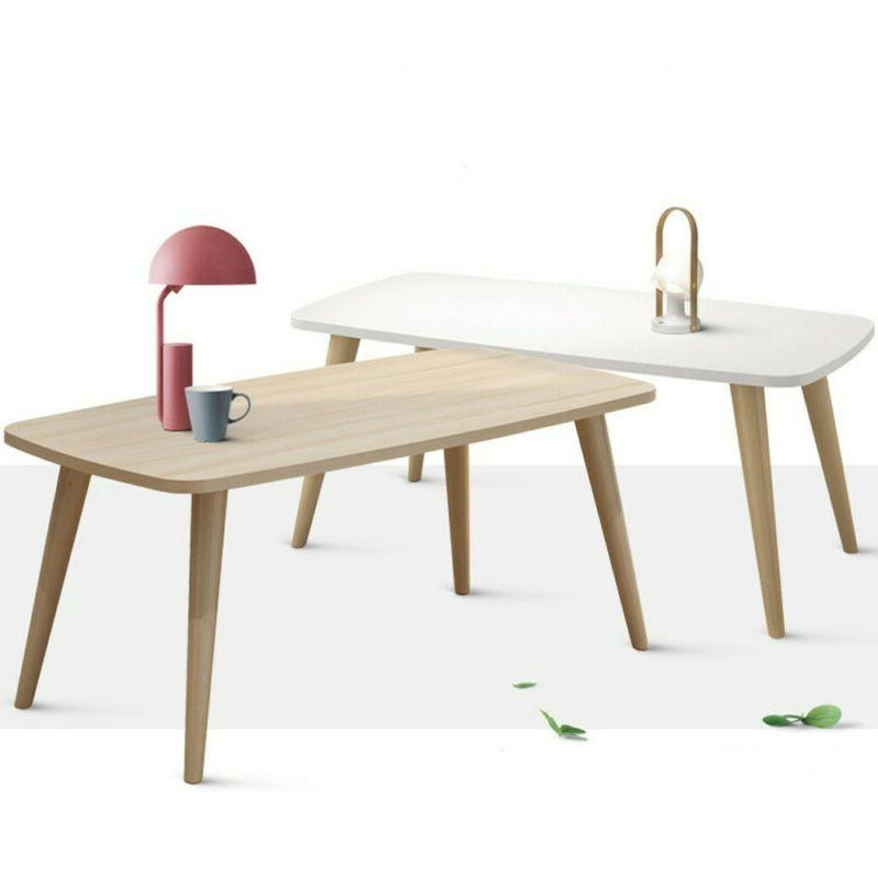 Nordic Minimalist Modern Small Medium-Sized Coffee Table 39.