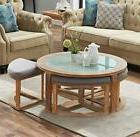 o and k furniture round coffee table