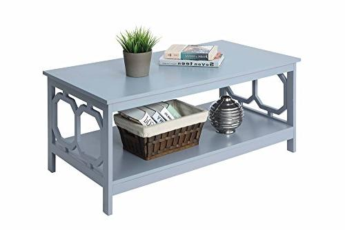 Convenience Omega Table, Gray