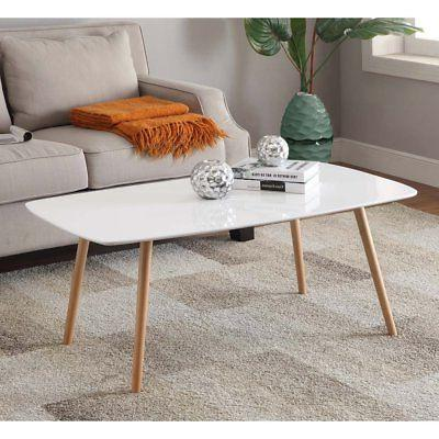Convenience Concepts Oslo Rectangle Coffee Table