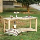 Outdoor Furniture Living Fir Wood Coffee Table 37.5*20.1*18.