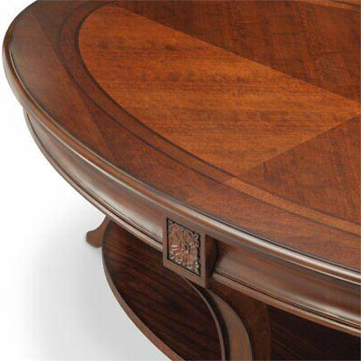 Beaumont Table with Casters Cherry