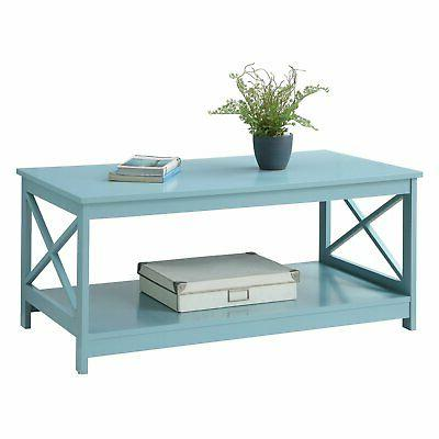Convenience Concepts Rectangle Coffee Table