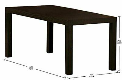 DHP Parsons Modern Coffee Table Dark Espresso
