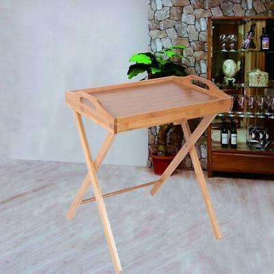 portable folding tv tray table stand dinner