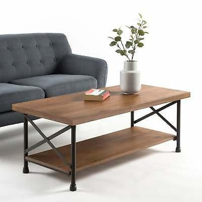 Priage by Zinus Industrial Style Coffee Table