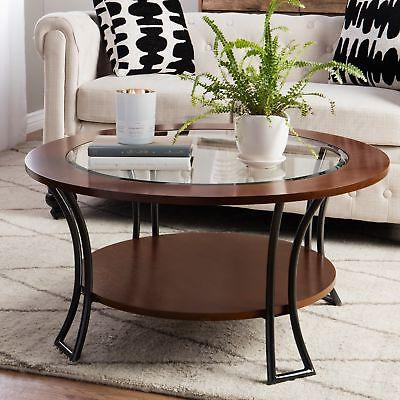 round coffee table modern living room furniture