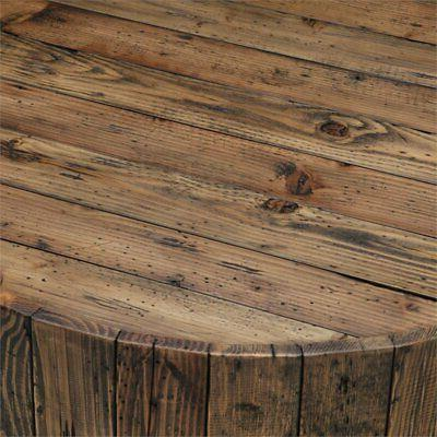 Beaumont Table with Casters in Rustic