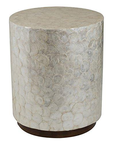 royal round icy side table