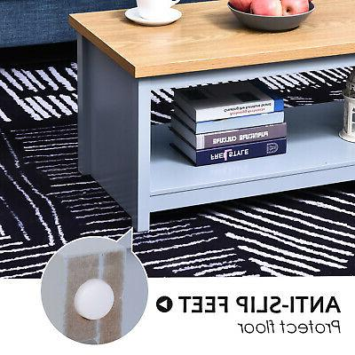 HomCom Table with for Room,