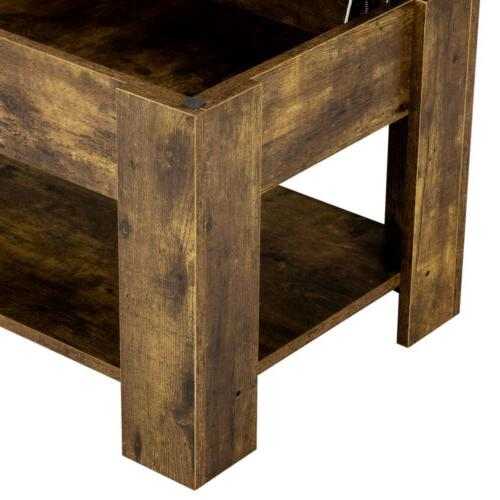 Rustic Lift Coffee Table For Living Room