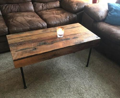 Rustic Reclaimed Handmade Country Coffee Hand - In