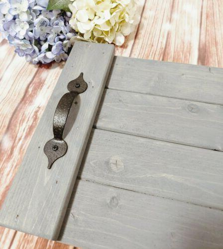 """Rustic Serving Tray Handmade 18"""" x Coffee Table Reclaimed Wood Pallet"""