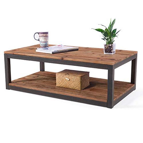 rustic vintage industrial solid wood