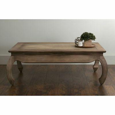 East At Brown Rectangle Coffee Table