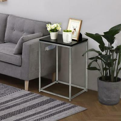 Side Small Spaces Tray End Table Stand Home