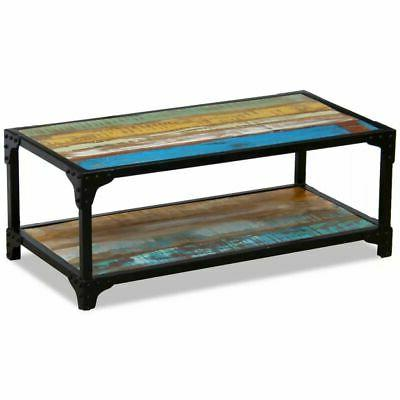 vidaXL Solid Reclaimed Wood Coffee Couch Side Table