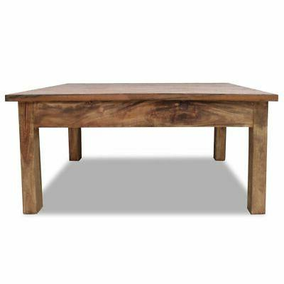 "vidaXL Solid Reclaimed Coffee Table 38.6"" End"