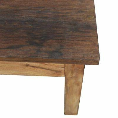 "vidaXL Solid Wood Coffee 38.6"" End Side Living"